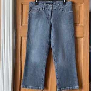 Theory Cropped Straight Leg Jeans Size 8